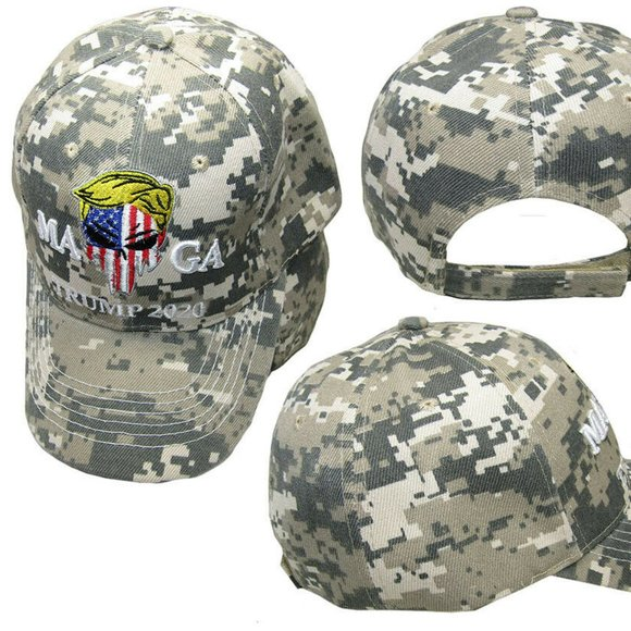 TRUMP Punisher MAGA 2020 HAT- ---CAMO